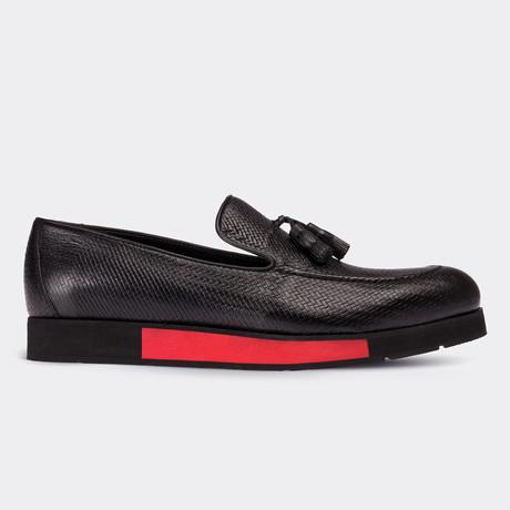Ryker Loafer Moccasin Shoes // Black (Euro: 38)