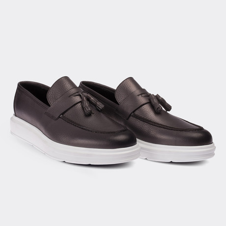 Easton Loafer Moccasin Shoes // Grey (Euro: 38)