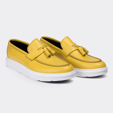Rolando Loafer Moccasin Shoes // Yellow (Euro: 38)