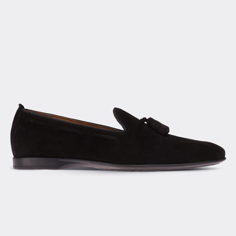 Jamal Loafer Moccasin Shoes // Black (Euro: 38)