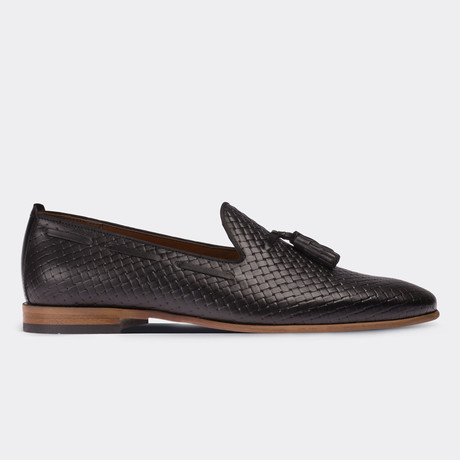 Darryl Loafer Moccasin Shoes // Black (Euro: 38)