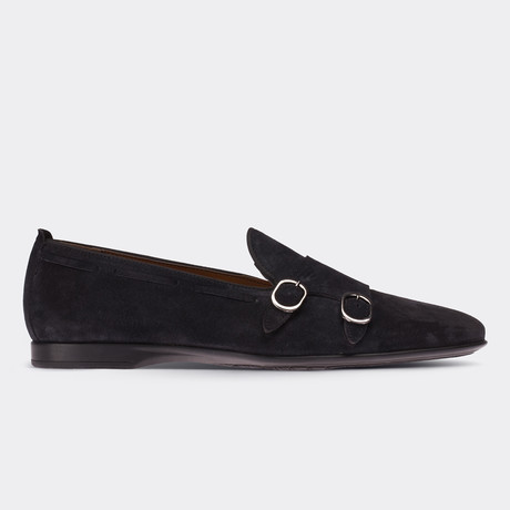 Mathew Loafer Moccasin Shoes // Black (Euro: 38)