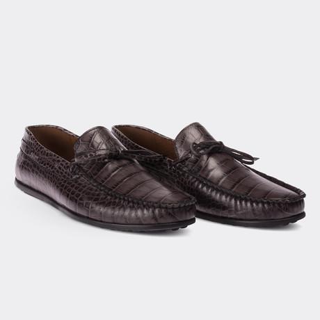 Konner Loafer Moccasin Shoes // Grey (Euro: 38)
