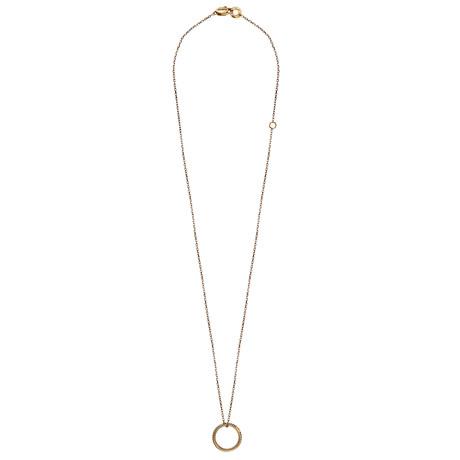 Damiani Metropolitan 18k Yellow Gold Diamond Pendant Necklace