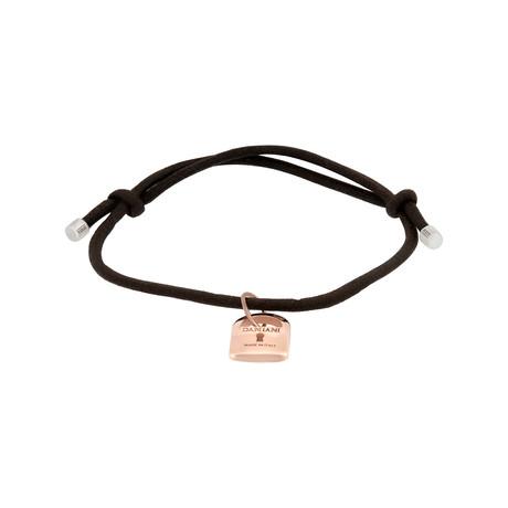 """Damiani 18k Rose Gold Diamond Bracelet I // Bracelet Size: 7"""""""