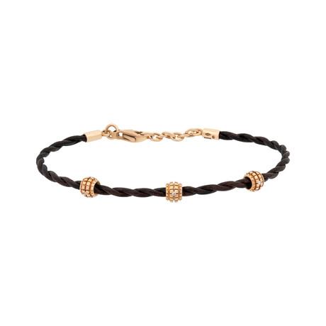 Damiani 18k Rose Gold Diamond Bracelet