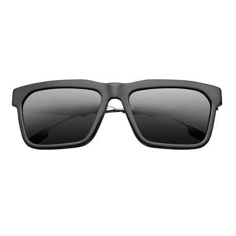 Deano // Matte Black + Grey Polarized