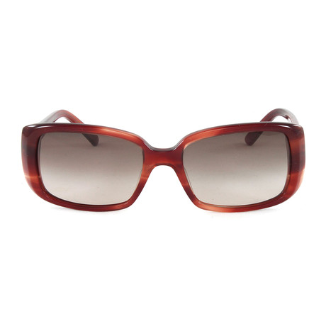 JS605S Sunglasses // Striped Red