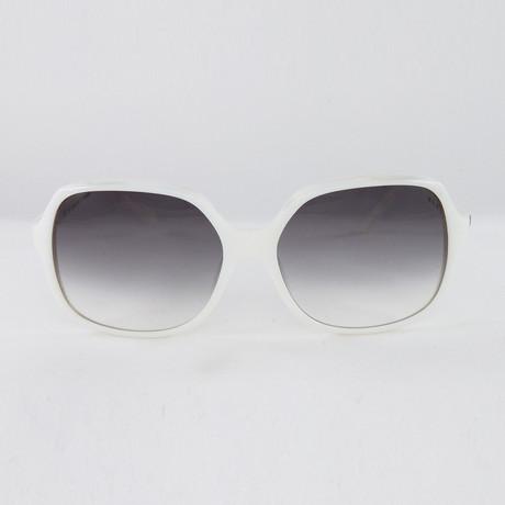 JS610S Sunglasses // White Pearl