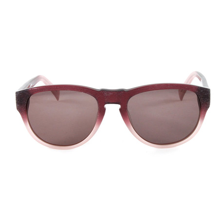 JS626S Sunglasses // Gradient Bordeaux