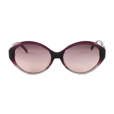 JS646S Sunglasses // Gradient Purple