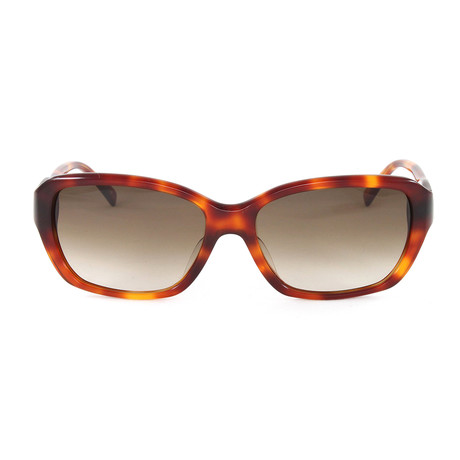 JS647S Sunglasses // Havana