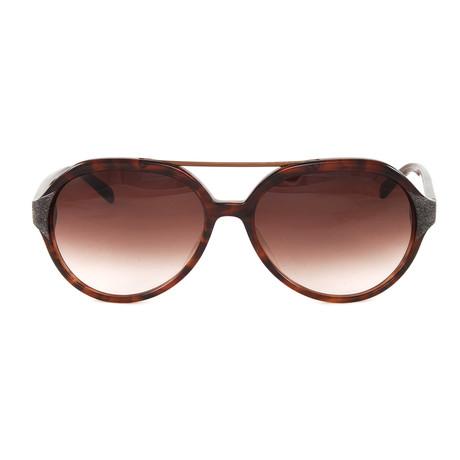 JS654S Sunglasses // Havana