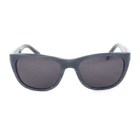 JS662S Sunglasses // Striped Grey