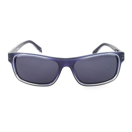 JS666S Sunglasses // Blue