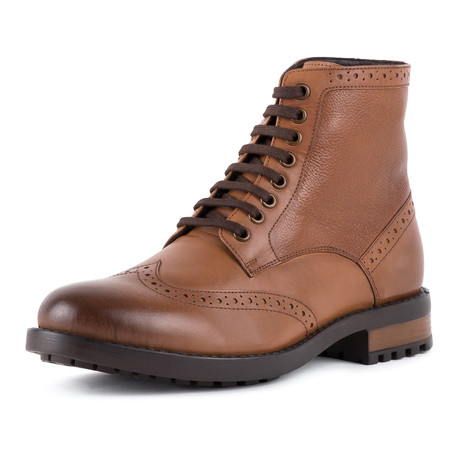 Brogue Boot // Tan (UK: 6)