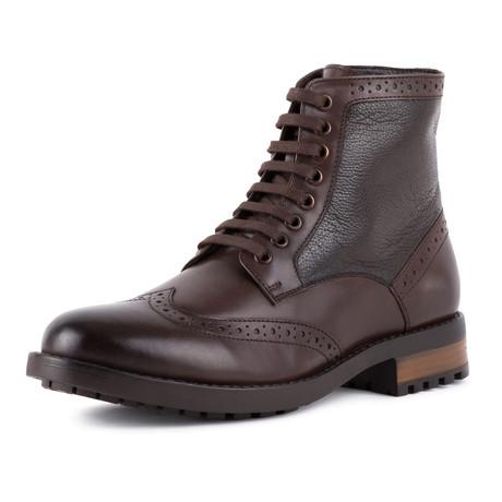 Brogue Boot // Brown (UK: 6)