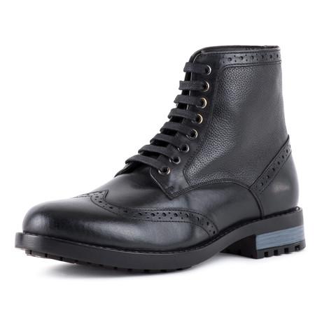 Brogue Boot // Black (UK: 6)