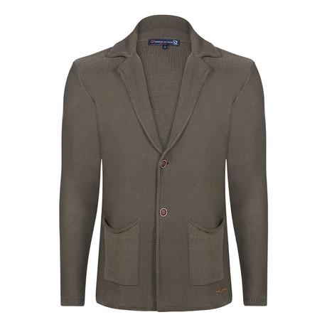Pietro Knitwear Jacket // Khaki (S)