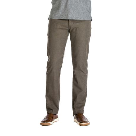 Travis Belgium Tweed 5 Pocket Pant // Tailored Fit // Trucker Grey (30WX30L)