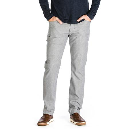Travis Belgium Tweed 5 Pocket Pant // Tailored Fit // Smoke (30WX30L)