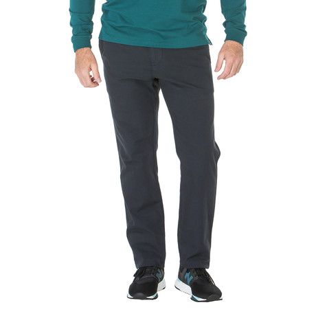 Phillip Canvas Island Bamboo Trouser // Comfort Fit // Dark Navy (30WX30L)