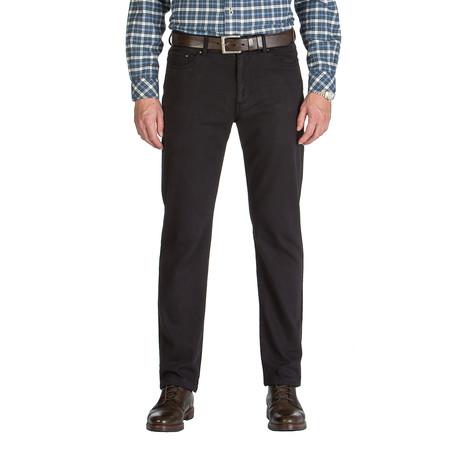 Vincent 5 Pocket Pant // Tailored Fit // Black (30WX30L)