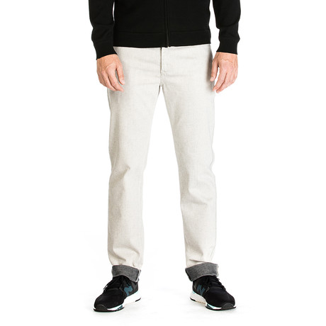 Vincent 5 Pocket Pant // Tailored Fit // Chalk (30WX30L)