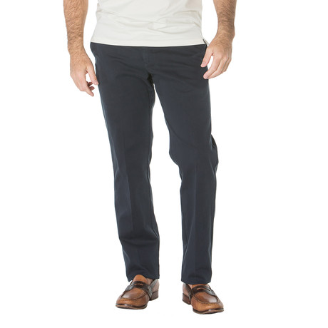Paul English Twill Trouser // Straight Fit // Navy (30WX30L)
