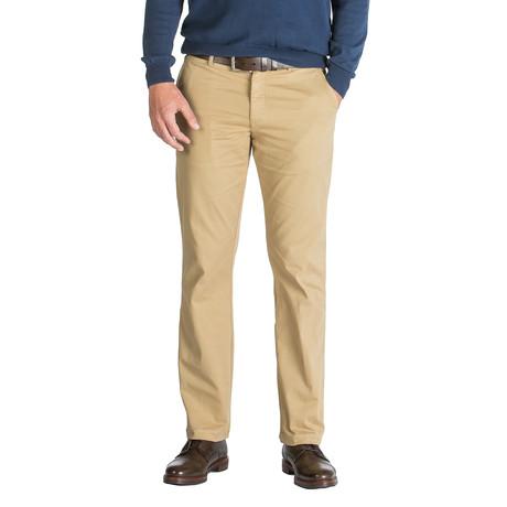 Paul English Twill Trouser // Straight Fit // New Khaki (30WX30L)