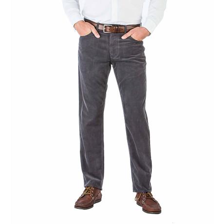 Martin 5 Pocket Pant Straight Fit // Graphite (30WX30L)
