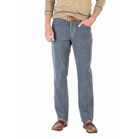 Martin 5 Pocket Pant Straight Fit // Steel Blue (30WX30L)