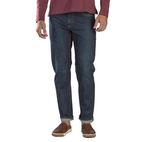 Travis 5-Pocket Selvedge Denim Pant // Tailored Fit // Rinse (30WX30L)