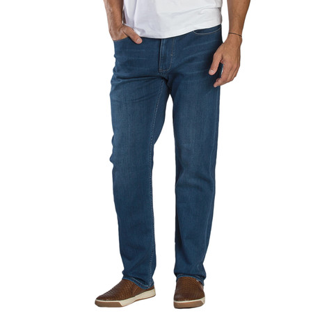 Travis Lightweight 5-Pocket Denim Pant // Tailored Fit // Rinse (30WX30L)