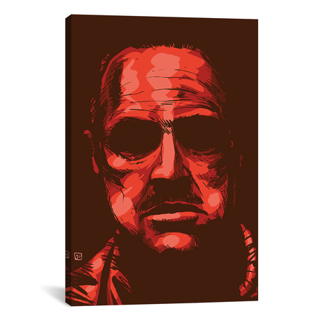 "Godfather // Giuseppe Cristiano (26""W x 18""H x 0.75""D)"