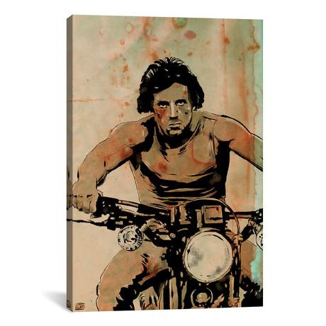 """First Blood // John Rambo (26""""W x 18""""H x 0.75""""D)"""