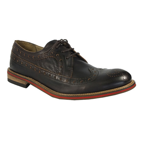 Walt Casual Dress Shoes // Dark Brown (Euro: 40)