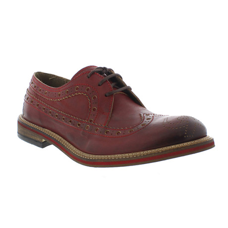 Walt Casual Dress Shoes // Red (Euro: 40)