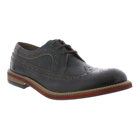 Walt Casual Dress Shoes // Petrol (Euro: 40)