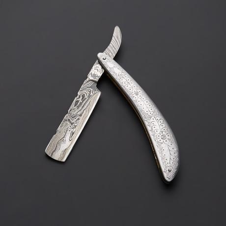 Engraved Royal Razor