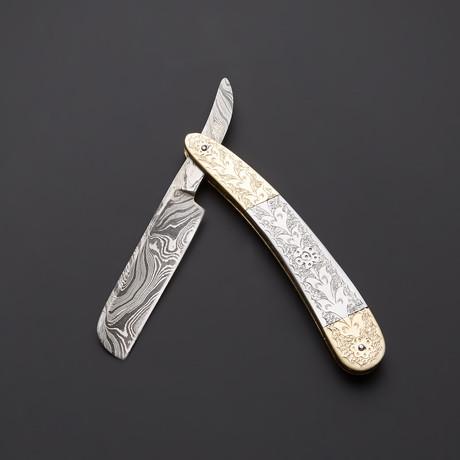 Razor Brass Special Engraved