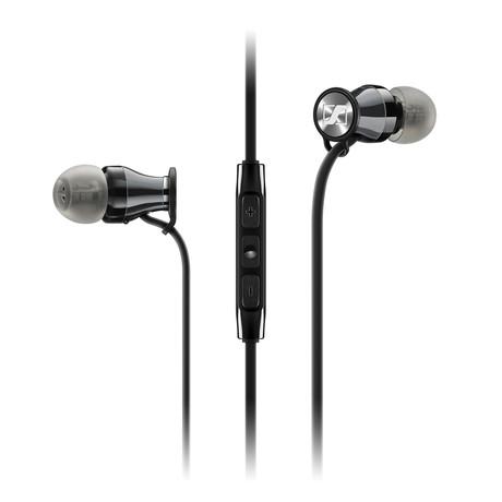 HD1 In-Ear Headphone // Black + Chrome // iOS
