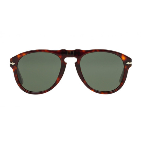 Persol // Classic Sunglasses // Dark Havana + Grey (52mm)