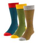 Classic Stripes // Boot Socks 3 Pack