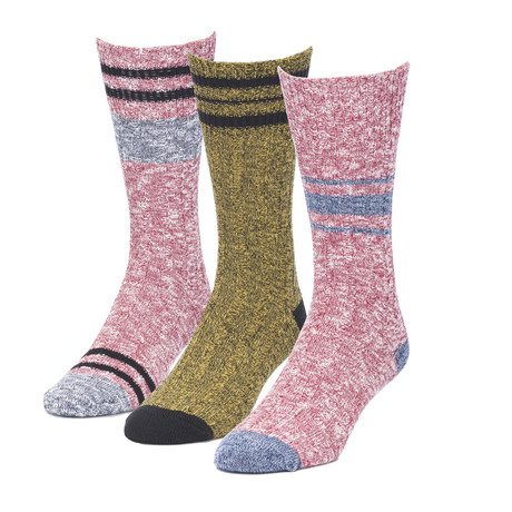 Overcast Gemini Boot Sock // Pack of 3