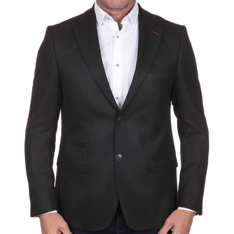 Jacquard Jacket // Black (4XL)