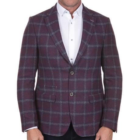 Plaid Jacket // Multicolor (S)