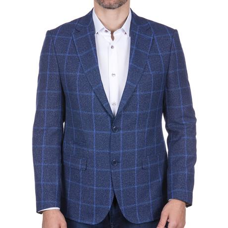 Plaid Jacket // Blue (S)