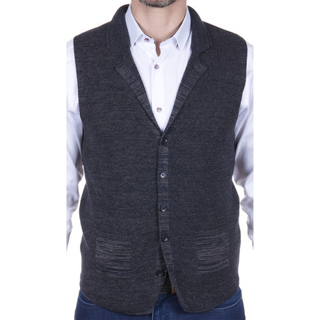 Sweater Vest // Navy (S)
