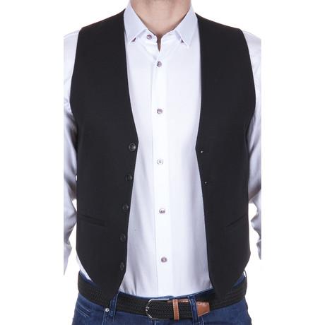 Woven Vest // Black (S)